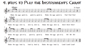 Play the Instruments Quickly