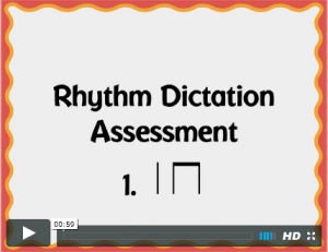 Rhythm Dictation cover