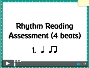 Rhythm Read 4 beats cover