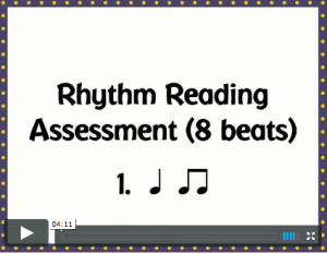 Rhythm Read 8 beats cover