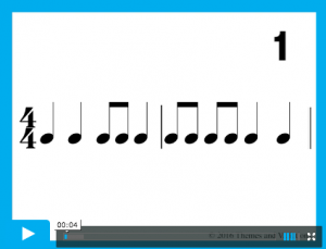 Rhythm Read 8 beats pattern