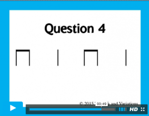 Rhythm dictation - answers